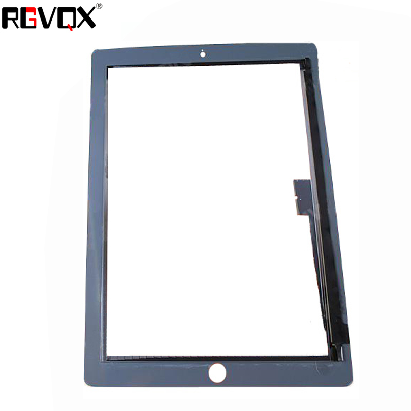 NEW Touch Screen Black White For Ipad 4 A1458 A1459 A1460 TP Digitizer Front Glass Replacement in Tablet LCDs Panels from Computer Office