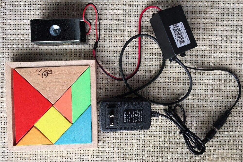 Chinois traditionnel jeu de sagesse vraie vie salle échapper accessoires jeu de puzzle débloquer autorité rapport labyrinthe jeu avec aTangram