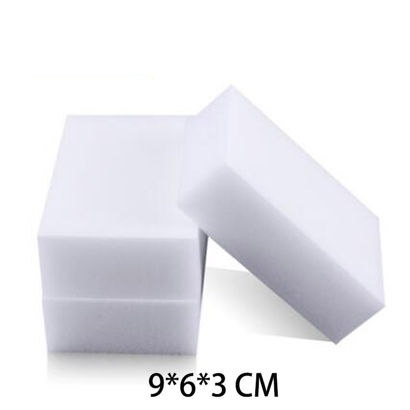 100Pcs 90*60*30MM Magic Sponge Eraser Melamine Sponge Kitchen Office Bathroom Cleaner Accessory Dish Cleaning Nano Wholesale