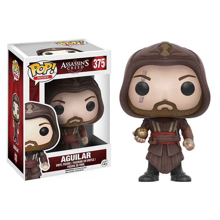 Funko pop   Movie:Assassin's Creed - Aguilar Vinyl Figure Collectible Model Toy with Original Box