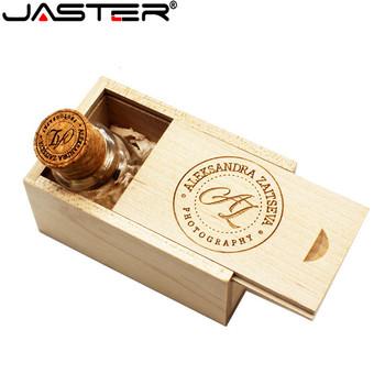 JASTER Glass drift bottle with Cork USB Flash Drive (Transparent) pendrive 4GB 8GB 16GB 32GB 64GB Fashion current bottle gift tanie i dobre opinie ZŁĄCZE USB 2 0 Maj-13 Pień Bottle Can Drewniane drift bottle Style Chiny kontynent 4GB 8GB 16GB 32GB Stock