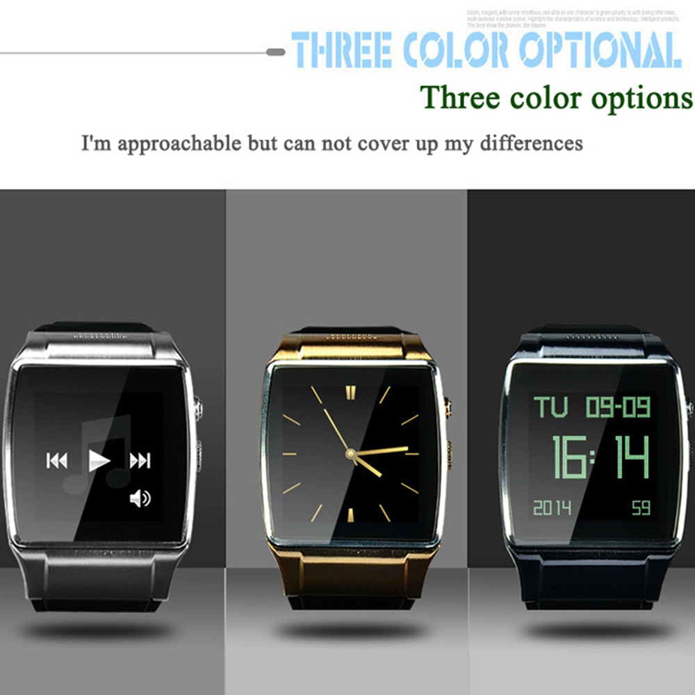 ce5e29848 Smart Bluetooth Wrist Hi Watch 2 Phone L18 SmartWatch Clock with GSM GPRS  SIM TF card 2MP Camera FM Radio for Android Smartphone-in Smart Watches  from ...