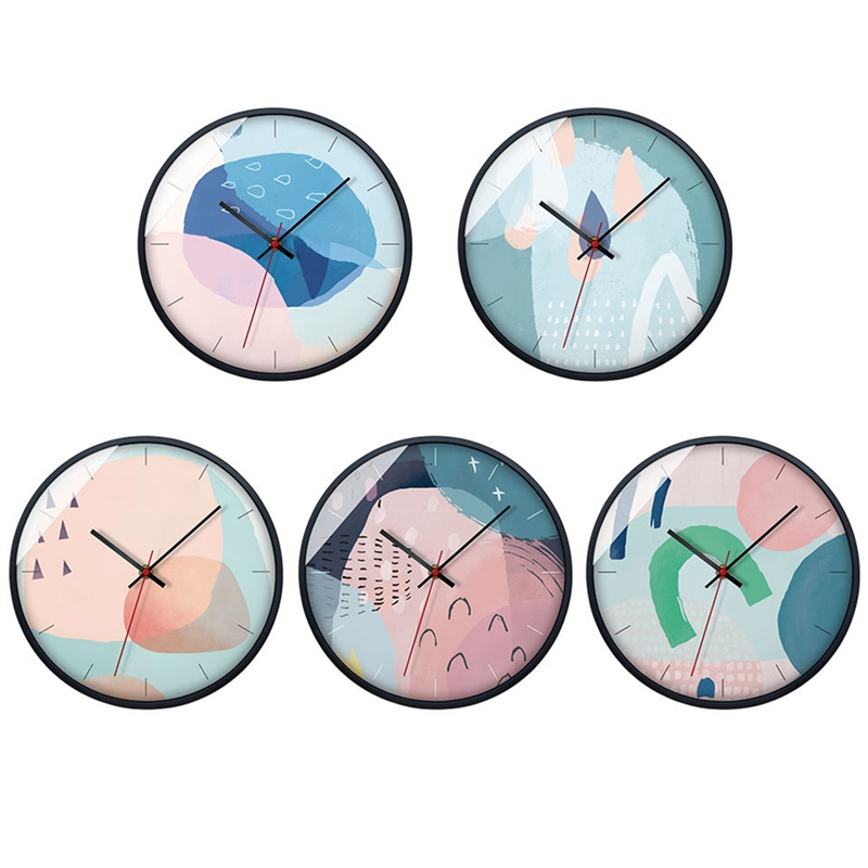Art Wall Clock Abstract Modern Design Silent Living Room Decoration Kitchen Wall Clock Home Decoration Accessories