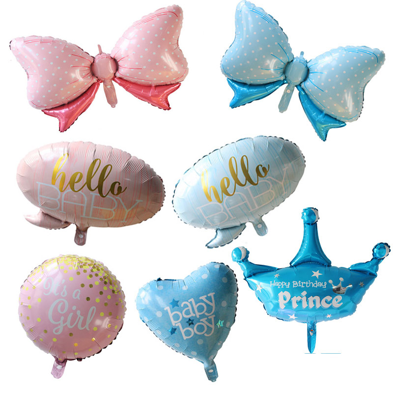 Ballons & Accessories Fast Deliver 50pcs Birthday Balloons Its A Boy & Its A Girl Baby Shower Ballons Kids Toys Gender Reveal Party Decor Supplies Childrens Day