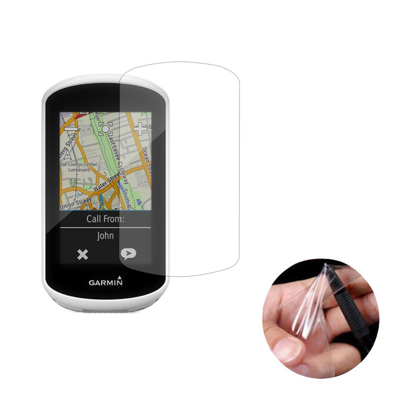 3pc PET Clear Screen Protector Cover Protective Film Guard For Garmin Edge Explore <font><b>Bike</b></font> GPS <font><b>Computer</b></font> Handheld Tracker Navigator image