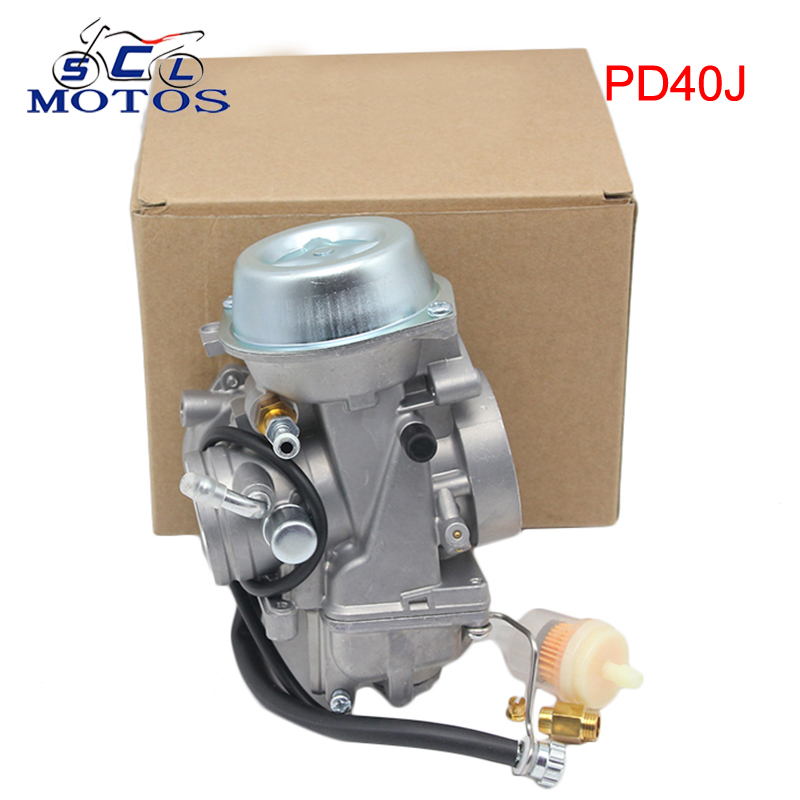 Sclmotos - 40mm PD40J 4 Stroke Motorcycle Carburetor ATV Quad Carb for POLARIS SCRAMBLER 500 4X4 SPORTSMAN 500 WorkerSclmotos - 40mm PD40J 4 Stroke Motorcycle Carburetor ATV Quad Carb for POLARIS SCRAMBLER 500 4X4 SPORTSMAN 500 Worker