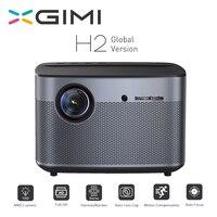XGIMI H2 проектор 1080 P 1350 Ansi Full HD 3D 4 K 2 ГБ/16 ГБ Android Bluetooth обмена потоковыми мультимедийными данными (Airplay) домашний кинотеатр