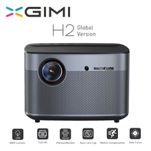 XGIMI H2 proyector 1080 P 1350 Ansi Full HD 3D proyector 4 K 2 GB/16 GB Bluetooth Android airplay casa teatro Proyector