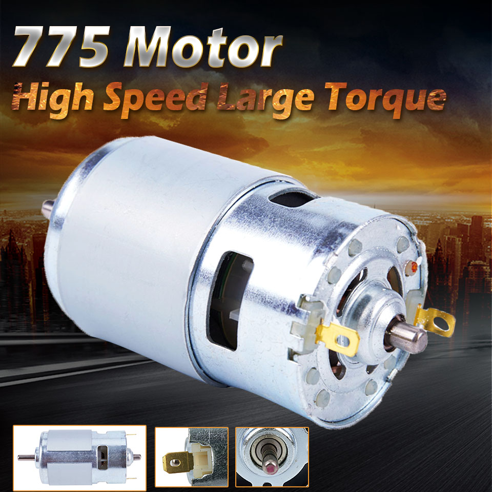 DC 12V 150W 13000~15000rpm 775 motor High speed Large torque DC motor Electric tool Electric machineryDC 12V 150W 13000~15000rpm 775 motor High speed Large torque DC motor Electric tool Electric machinery