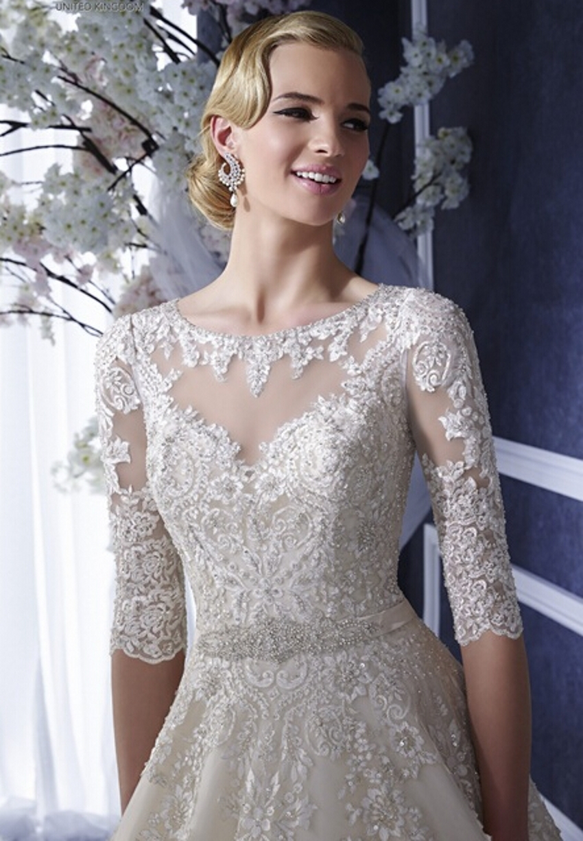 Lebanese Lace Wedding Dresses | Dress images