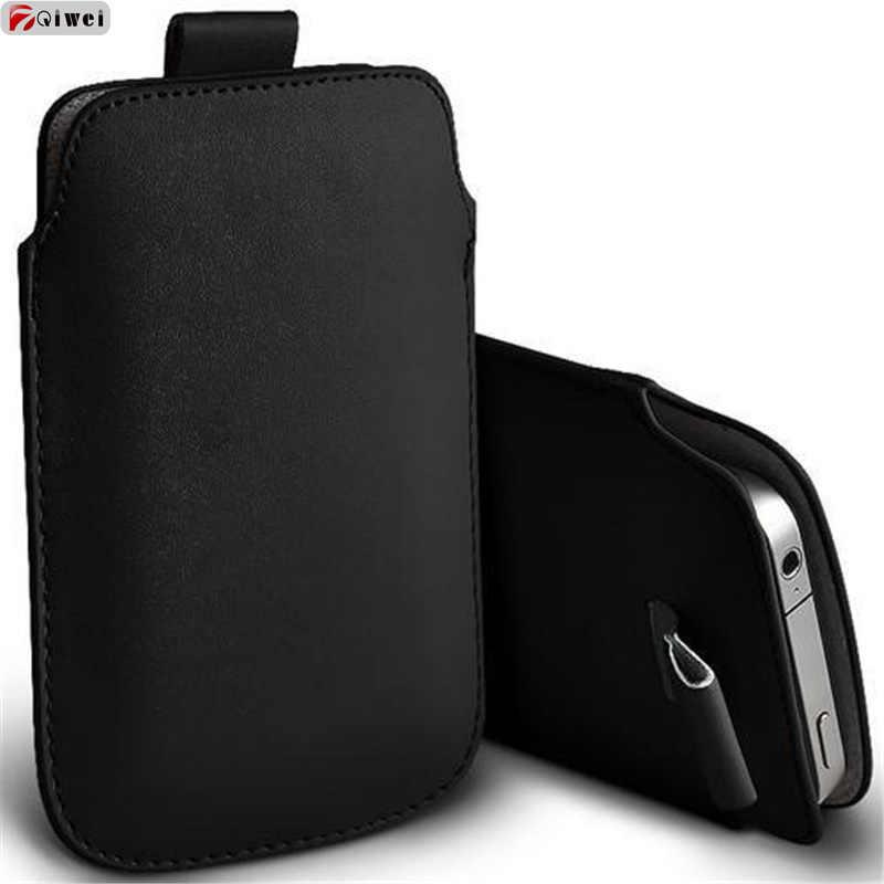 Untuk iPhone 11 2019 Case Saku Tali Sarung Tab Tarik Lengan Pouch Case PENUTUP UNTUK iPhone 11 Pro Max 5.8 6.16.5inch Kulit topias