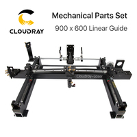 Mechanical Parts Set 900mm*600mm Single Head Laser Kits Spare Parts for DIY CO2 Laser 9060 CO2 Laser Engraving Cutting Machine