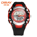 DIRAY Children Watches Quartz Digital Watch Sports Alarm Stopwatch Hour 30M Waterproof Dress Watches Kids Night Light Function