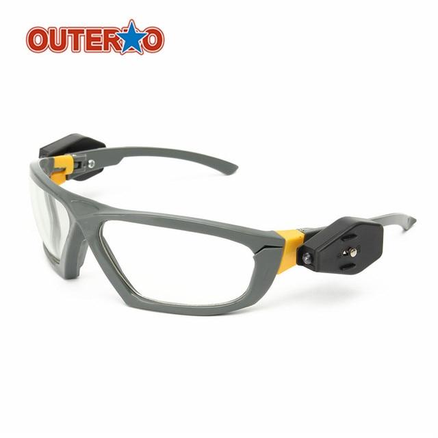 f01519b827202 OUTERDO Equitação Esportes Ao Ar Livre Óculos de Visão Noturna LED  Brilhante Luz de Leitura Óculos