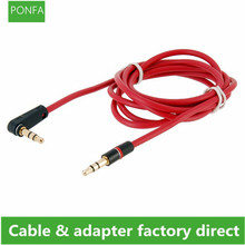 120cm 90 Degree Angled Short 4 pole 3.5mm to 3.5mm Audio Cable Plug jack 3.5 male to male Car Sound Wire headphone for phones translucent 3 5mm male to male audio connecting cable white blue 120cm