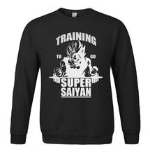 Anime To Go Super Saiyan fashion men sweatshirt 2017 spring winter men hoodies hip hop style streetwear harajuku brand clothing