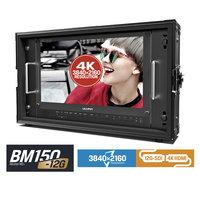 Lilliput BM150 12G 15.6 12G SDI Broadcast Director Monitor 3G SDI 4K Monitor 3840x2160 SDI HDMI Tally VGA Free ship