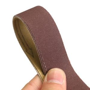 Image 5 - 762x25 мм 3 шт. абразивная шлифовальная лента зернистость 240 # наждачная бумага для полировки, шлифовки, работы, абразивные инструменты