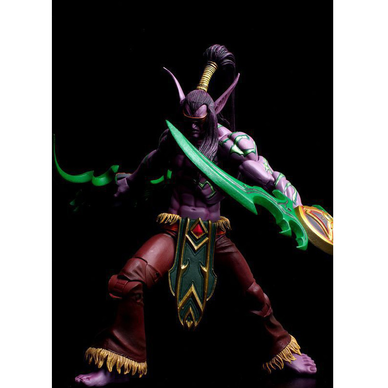 LEGION Illidan heroes of the storm PVC Action Figure Collectible Model Toy 7 18cm KT1816 фигурки neca фигурка heroes of the storm 7 scale action figure series 2 tyrael