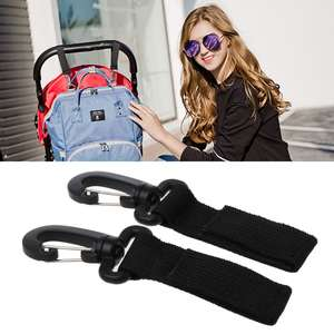 2pcs/Set Hook Baby Strollers Bag Stroller Accessories