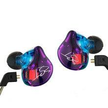 100%ต้นฉบับKZ ZSTที่มีสีสันในหูหูฟัง1DD + 1BAไฮบริดไดรฟ์ไฮไฟหูฟังวิ่งกีฬาหูฟังMonitoหูฟังEarplug
