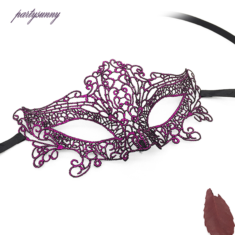 PF Sexy Spitze Maske Ausschnitt Augenmasken für Maskerade Kostüm ...