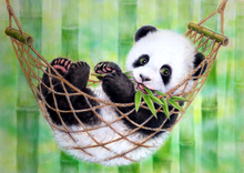 5D Diamond Embroidery Animal Panda Cross Stitch DIY Diamond Painting horse Diamond rhinestones Home Decor Christmas gift(China)