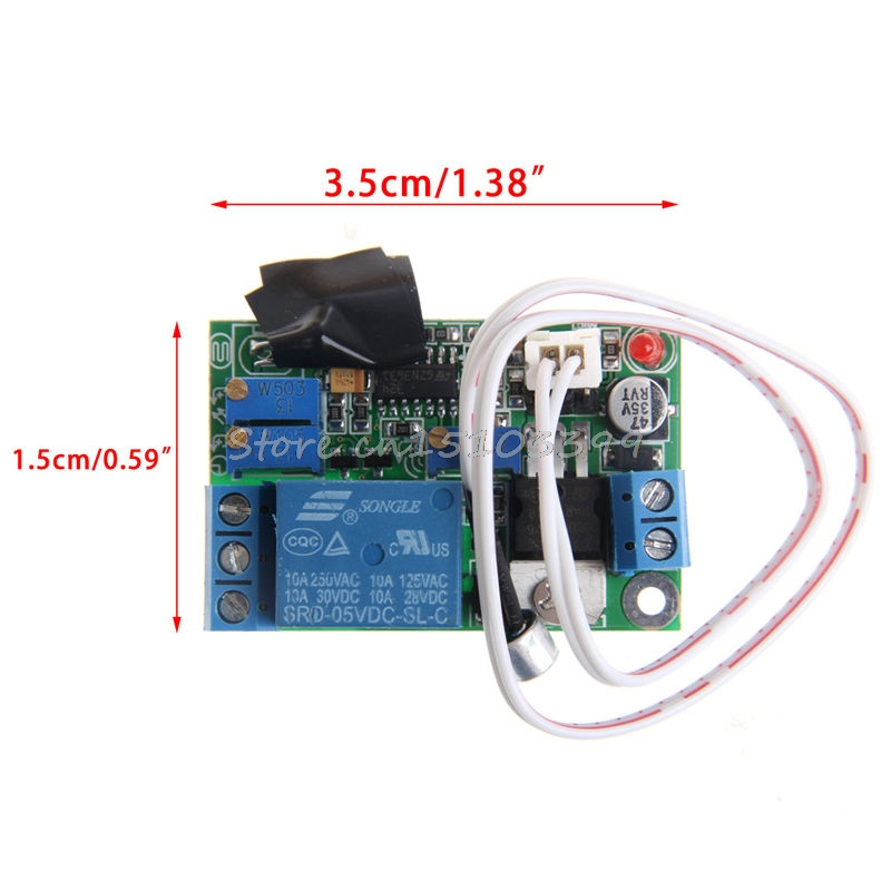 New DC5V 12V <font><b>24V</b></font> Sound Sensor Light Control Relay Switch Time Delay Turn OFF <font><b>Module</b></font> Drop Ship image