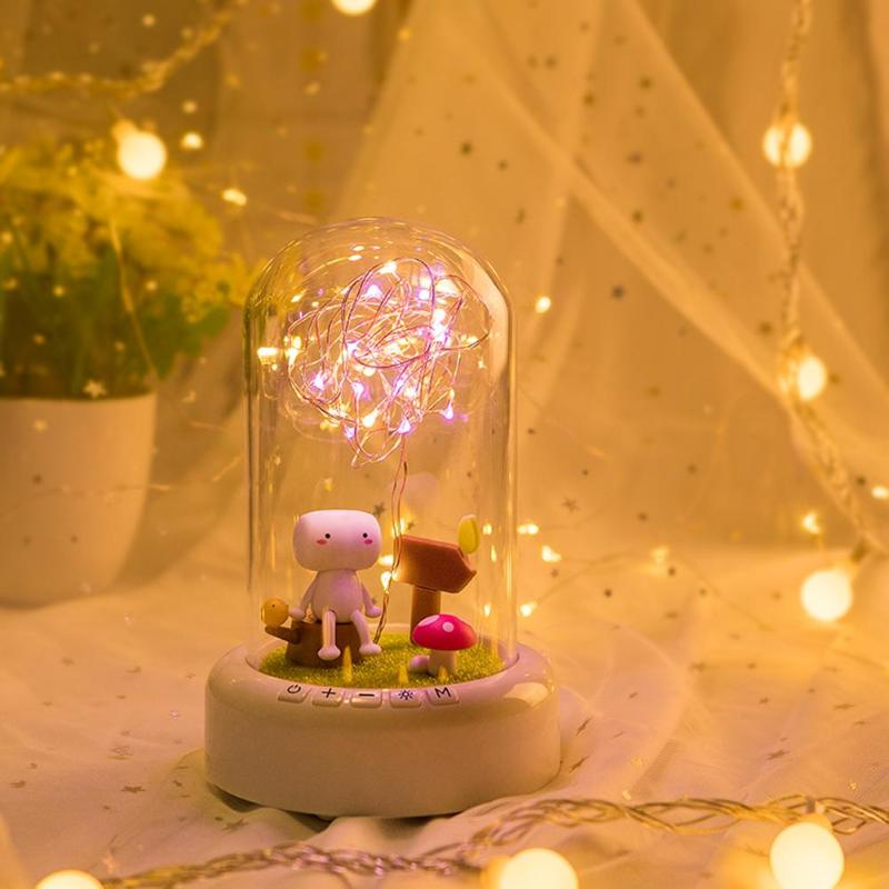 Stars Starry Sky LED USB Night Light Projector Luminaria Moon Novelty Table Night Lamp for Children тарелка десертная biona blank