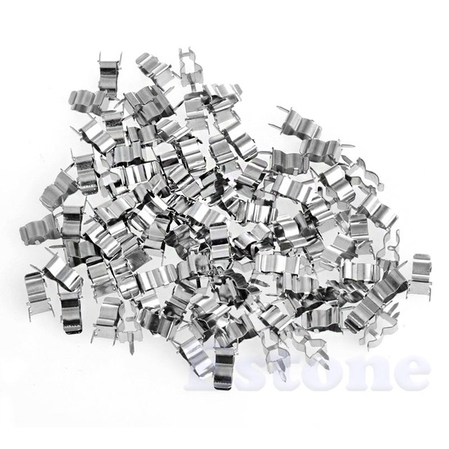 100pcs 5 20mm Fuse Holder Clips Glass Quick Fast Blow Fuses