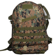 2016 New Fashion Man and Women font b Oxford b font 3D Backpacks travel bag Camouflage