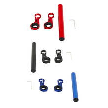 Professional Bike Cycling Handle Bar Extender Bicycle Extensions Frame Bike Accessories Mount Lamp Bracket Holder drop shipping