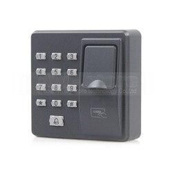 DIYSECUR биометрическая машина контроля доступа отпечатков пальцев цифровой электрический RFID считыватель код Пароль Клавиатура система для д...