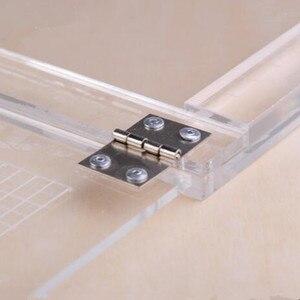 Image 4 - מחברת סוג אקריליק positioner גומי צבע תהליך מכשיר שקוף אקריליק הדפסת positioner