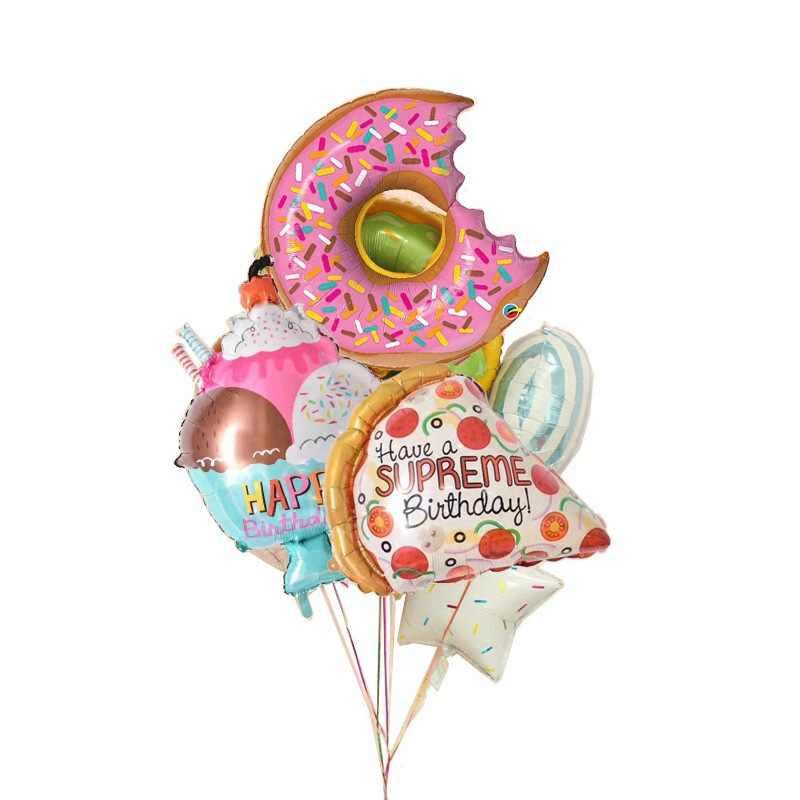 Grande 3D Orso foil balloons Classic Toys palle globos Elio palloncino buon compleanno giocattoli gonfiabili forniture baby shower partito