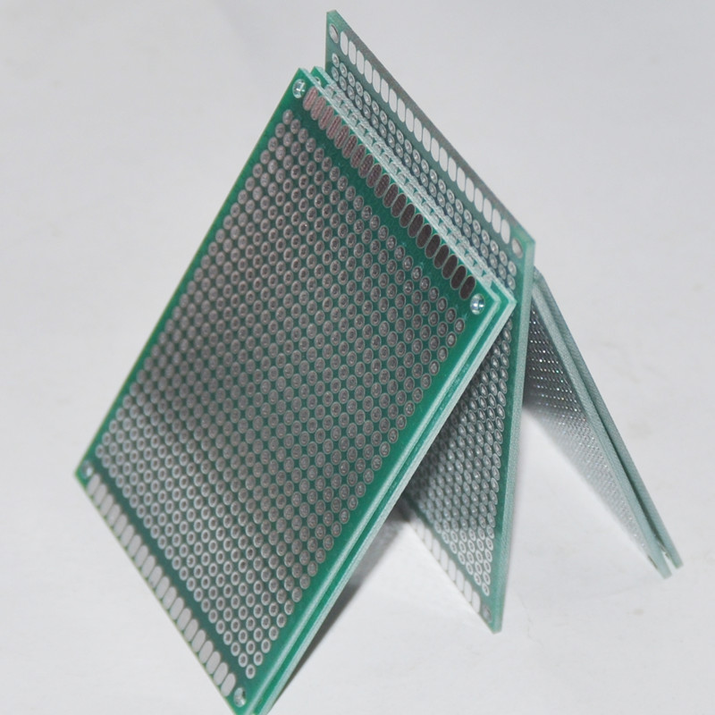 2PCS Prototype Solderless 8X12cm PCB Board Protoboard Breadboard Perfboard DOT