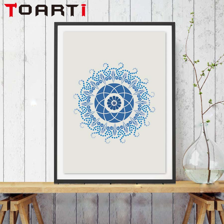 India Mandala Posters Bohemian Poster Retro Prints A3 Size Wall Decor
