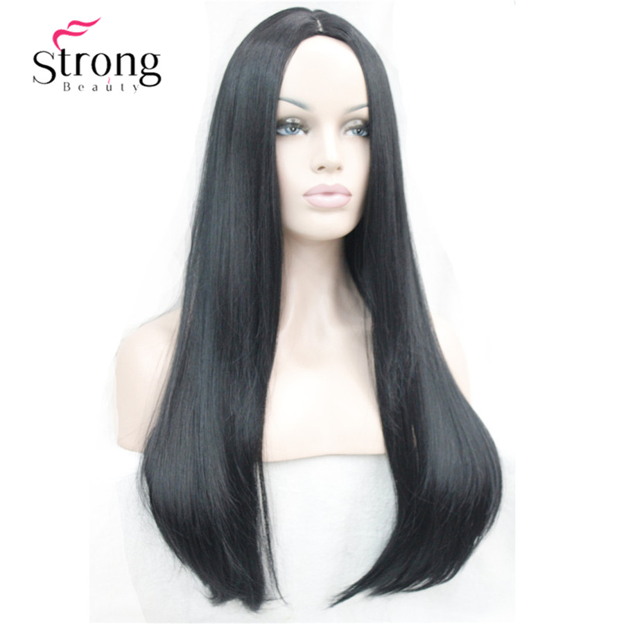 StongBeauty 26inches Women's Wig Long Straight Synthetic Cosplay Costume Hair Wigs COLOUR CHOICES