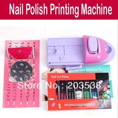 Nail Art Printing St Machine Set Ideas