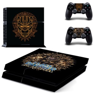 Image 4 - The Avengers Black Panther PS4 Skin Sticker Decal Vinyl for Sony Playstation 4 Console and 2 Controllers PS4 Skin Sticker
