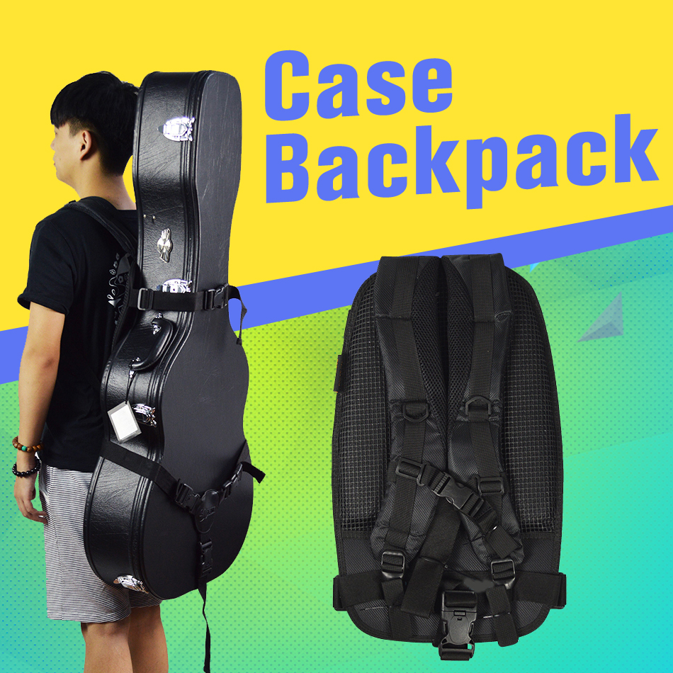 2017 heat,Guitar case cushion electric guitar, Acoustic Guitar  cushion, all kinds of guitar cases, black free delivery gisten free shipping black acoustic guitar electric guitar feet accessories guitar foot pedal guitar parts