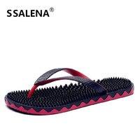 Summer Slippers Men Casual Eva Massage Sandal Leisure Soft Beach Slippers Breathable Water Shoes Men's Flip Flop A857