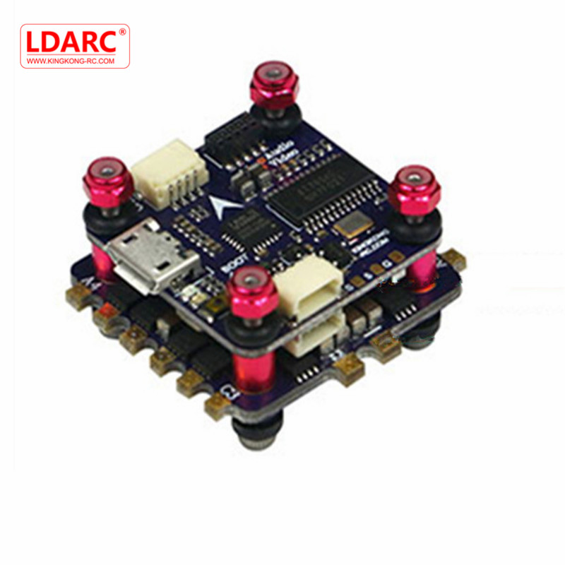 LDARC/Kingkong KK12 KK Flytower 20x20mm 12A BLheli_S 4 in 1 ESC & Omnibus F4 Flight Controller w/ OSD For FPV RC Drone Replace omnibus f303 b6 v2 f3 flight controller replace integrate osd hub fpv section board for airframe quadcopter multicopter rc drone