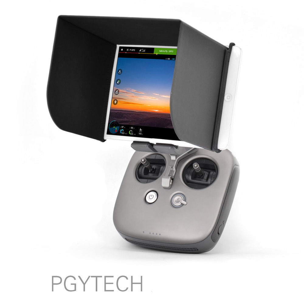 PHANTOM 4 iPhone 7 and 6 PLUS Sunshade mount for DJI INSPIRE 1 Phantom 3 and 2