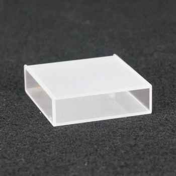 40mm Path Length Jgs-3 Quartz Cell Cuvette Cell With PTFE Lid For For Infrared Spectrometer