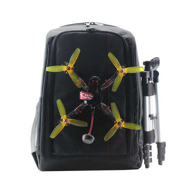 Traverser Drone Backpack with SoloGood Backpack Hanger Fastener FPV Racing Drone Quadcopter Carry Bag Outdoor Portable Case