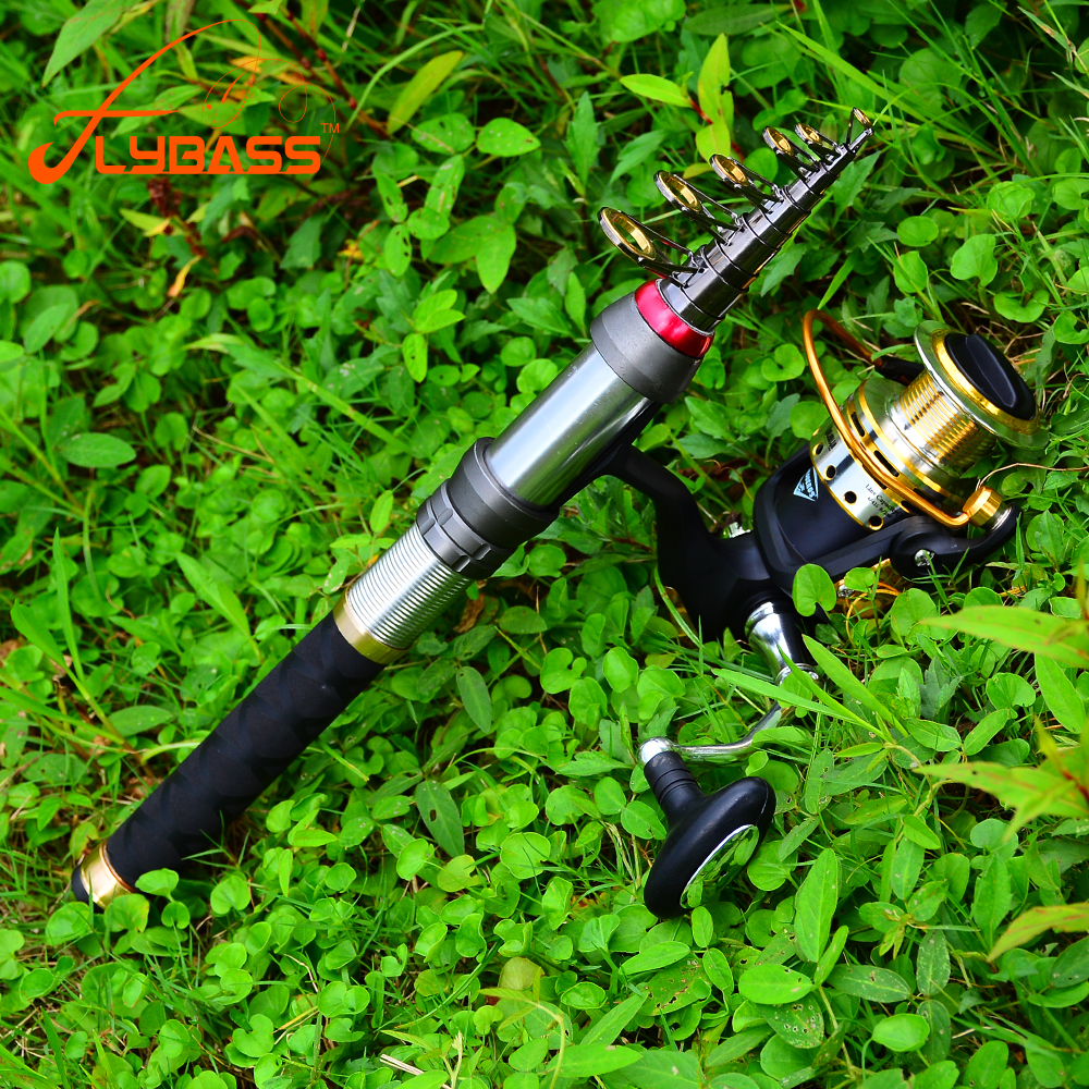 1.5M-3.6M High Carbon Telescopic Fishing Rod 8/9/10/12/14 Section Metal Handle Sea Fishing Rod Fishing Tackle With Line Set(China)