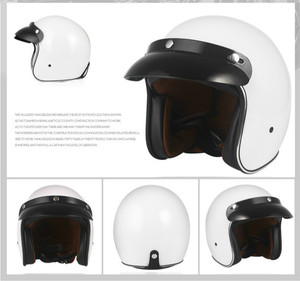 Image 4 - Helmets for Cross country Motorcycles Sunscreen Locomotives Half helmets Four season Electric Vehicle Safety Helmet