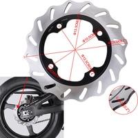 Motorcycle Rear Brake Disc Rotor For Honda CBR 1000 RR FIREBLADE 04 10 CBR600RR 03 08 CBR 900RR 92 03 CBR600 F2/F3/F4/F4i 91 06