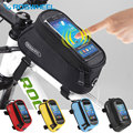 NaturalHome Roswheel Bicycle Front Bag Mountain Bike Accessories Bicycle Pannier Sports Bike Phone MTB Cycling Bag